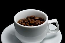 Free Coffee Cup Stock Photography - 8120772