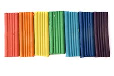 Free Rainbow From Color Plasticine Stock Photo - 8121010