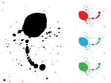 Free Ink Splash Illustration Stock Photography - 8121902