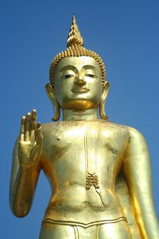 Free Golden Buddha Royalty Free Stock Image - 8122116