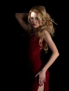 Free Hot Blondie Royalty Free Stock Photo - 8122325