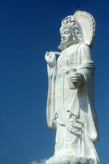 Free Goddess Of Mercy Royalty Free Stock Image - 8122436