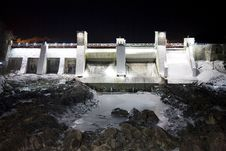 Free Imatrankoski Dam Royalty Free Stock Photo - 8123025