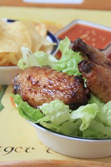 Free Chicken Wings Stock Images - 8123304