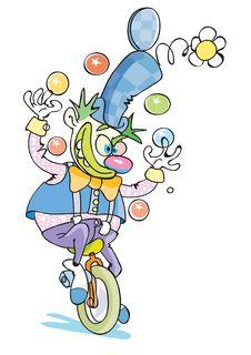 Free Happy Clown Royalty Free Stock Image - 8123566