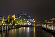 Free Sydney Harbour Bridge Royalty Free Stock Photos - 8123708