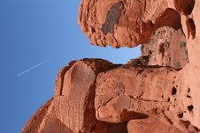 Free Valley Of Fire, Nevada Royalty Free Stock Photography - 8123927