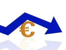 Euro Arrow 2 Stock Image