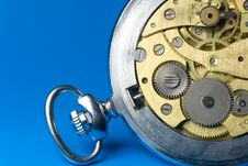 Free Closeup Of Old Watch Mechanism Royalty Free Stock Photography - 8124227