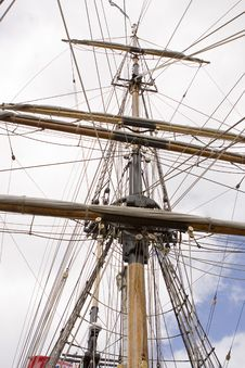 Free Ships Mast Stock Photography - 8125122