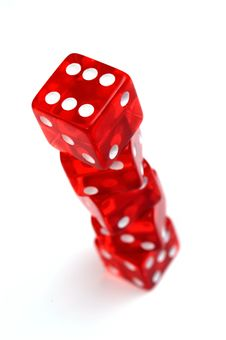 Free Dices Royalty Free Stock Photography - 8125517