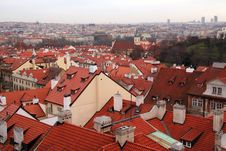 Free Prague - A City Of Red Roofs. Royalty Free Stock Images - 8126579