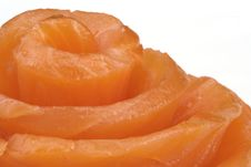 Free Fillet Of A Smoked Salmon. Stock Image - 8126701