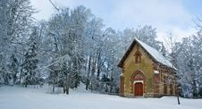 Church In The Mountain Stock Photography