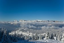 Free Snow In Alps Royalty Free Stock Images - 8126829