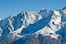 Free Snow In Alps Stock Image - 8126891