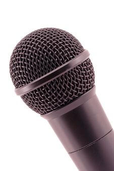 Free The Fragment Of Microphone. Royalty Free Stock Photos - 8126908
