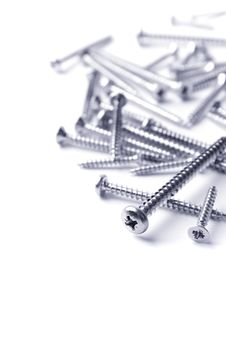 Free Metal Screws Royalty Free Stock Photo - 8126945