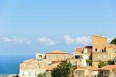 Free Corsican Village Stock Photos - 8127673
