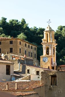 Free Corsican Village Royalty Free Stock Photography - 8127787