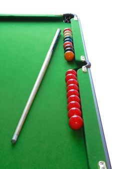 Free Snooker Table Royalty Free Stock Photo - 8128265