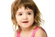 Free One Year Old Girl Royalty Free Stock Image - 8128446