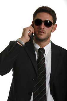 Free Young Attractive Businessman Stock Photos - 8128793