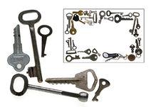 Free Keys Royalty Free Stock Photography - 8129117
