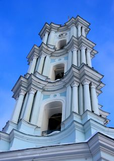 Free White Church Belfry Under Blue Sky Stock Images - 8129264