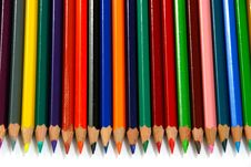 Pencils Line Up 2 Royalty Free Stock Photo