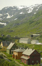 Free Some Houses In A Norwegian Valley Stock Photo - 8131650