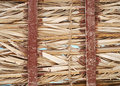 Free Palm Leaf Roof Royalty Free Stock Images - 8139689