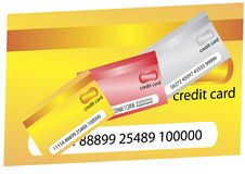 Free Credit Cards Royalty Free Stock Photography - 8130407