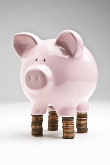 Free Standing On Your Money Stock Photography - 8130532
