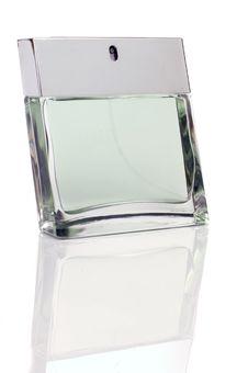 Free Bottle Of Perfume Stock Image - 8130881
