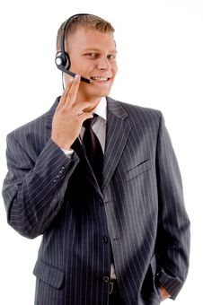 Free Portrait Of Young Customer Service Provider Stock Photo - 8131170