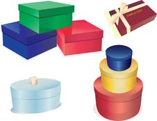 Free Gift Boxes Stock Photo - 8131360
