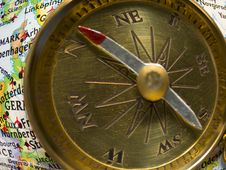 Free Compass Royalty Free Stock Photo - 8131535