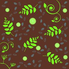 Free Retro Floral Design Stock Photos - 8131603