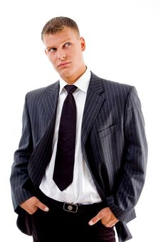 Free Businessman Looking At Camera Royalty Free Stock Photos - 8131688