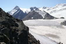 Free Mountain Glacier Royalty Free Stock Image - 8132406