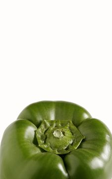 Free Green Bell Pepper Royalty Free Stock Photo - 8132485