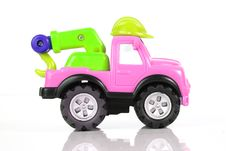 Free Pink Toy Car Stock Photography - 8132532