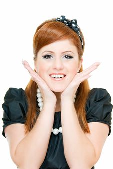 Free Smile Of Redheaded Stock Image - 8132601