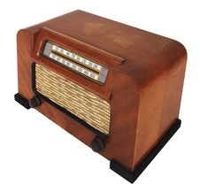 Free Vintage Tube Radio Stock Images - 8132684