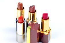 Free Lipsticks Royalty Free Stock Photo - 8132885