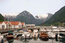 Small Port Near A Fisherman Village Stock Photography