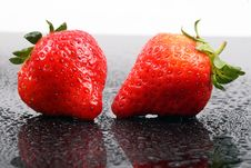 Free Strawberries Royalty Free Stock Photography - 8133417