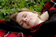 Free Asleep Beauty Royalty Free Stock Image - 8133566