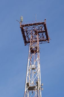 Free Antenna Royalty Free Stock Image - 8133916